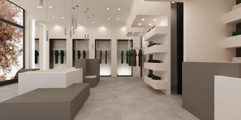 Montaggio mobili per negozio